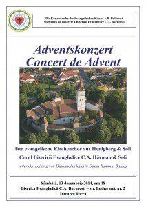 Plakat Honigberg 13 decembrie 2014